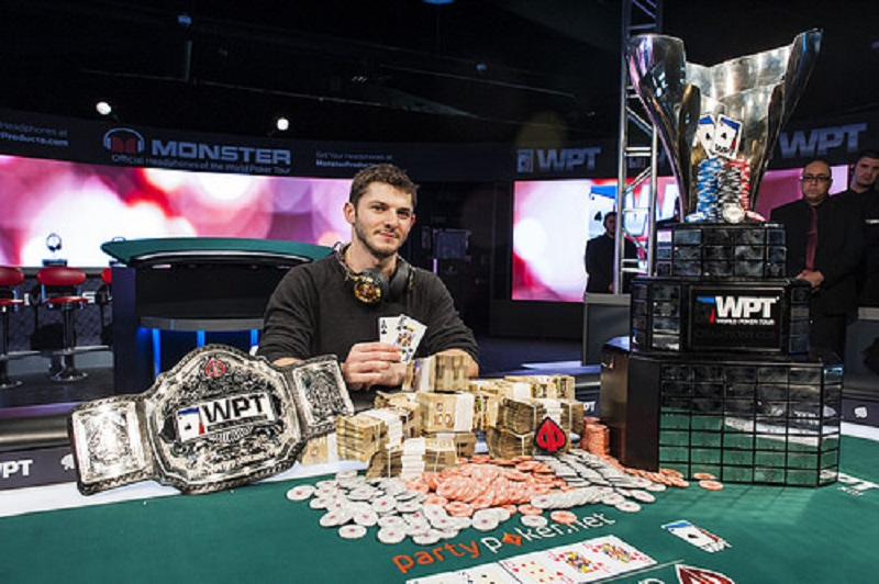 Jonathan Jaffe won the WPT ME, Montréal 2014