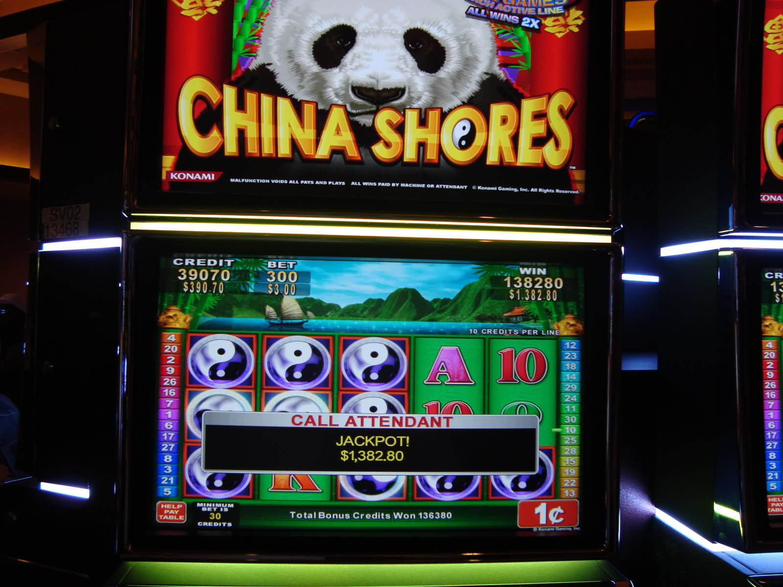 China Shores™ Slot Machine Game to Play Free in Konamis Online Casinos