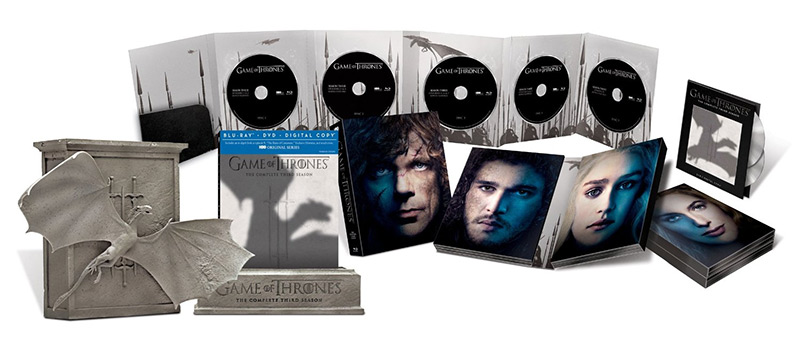Game of Thrones: The Complete Third Season Limited-Edition 53.49$ [Amazon.ca]