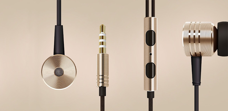 Écouteur Xiaomi Piston Earphone Metal 21.68$ [Dealextreme]