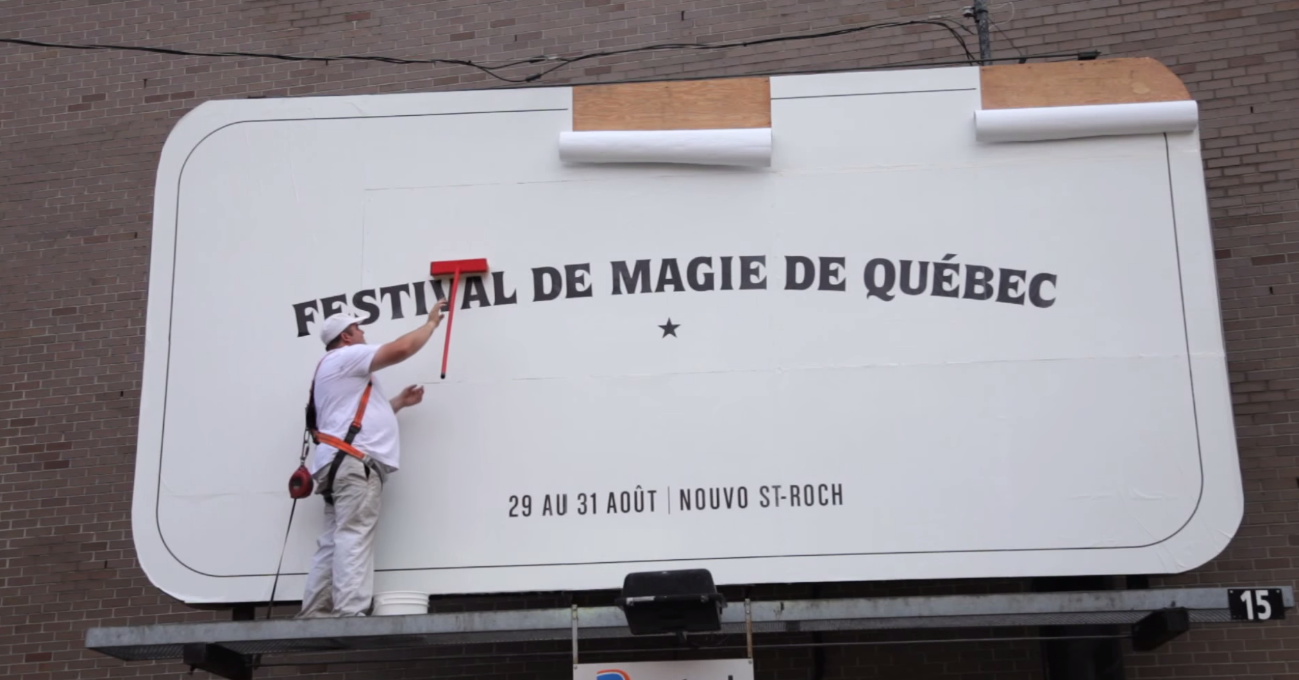 Brilliant promo for the Magical Festival of Quebec