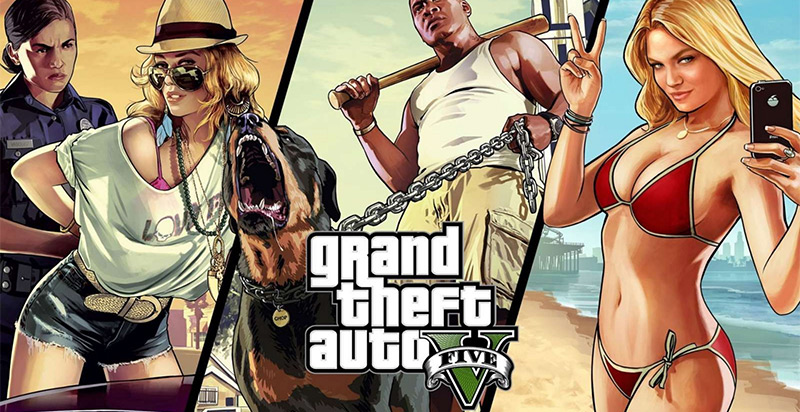Grand Theft Auto 5 will be released November 18 on PS4/XONE, January for PC