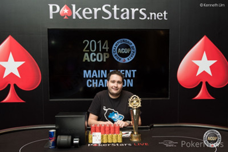 Gabriel Le Jossec alias Gabe won the ME of Asia Championship of Poker season 8