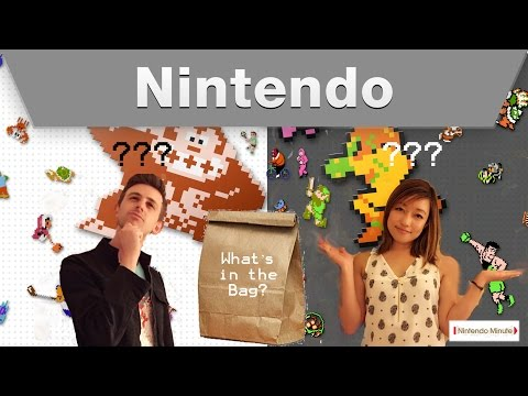Nintendo Minute a s Whatâ in the Bag?