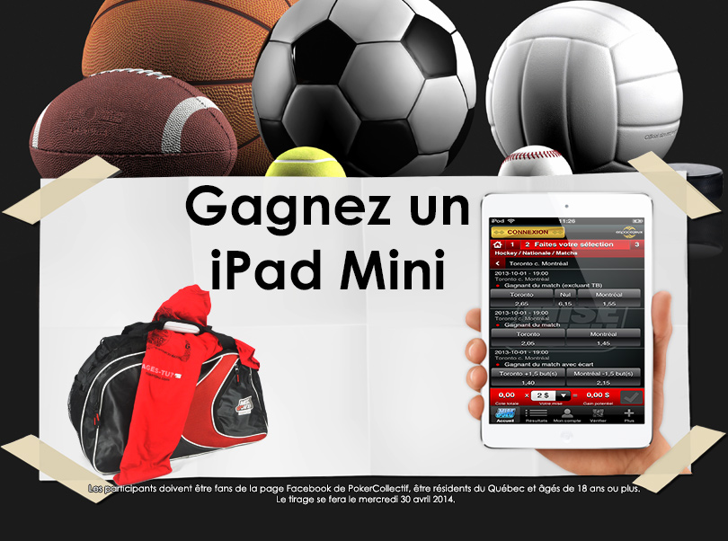 Contest: Win an iPad and an exclusive set Mise-o-jeu!