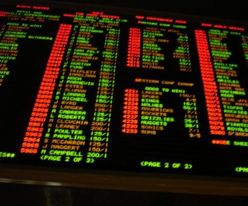 Gambling wagers