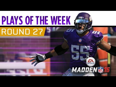 Madden NFL 15 - Plays of the Week - Round 27